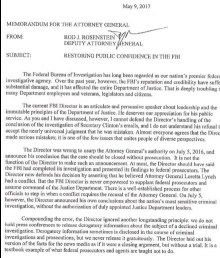 rosenstein fbi letter